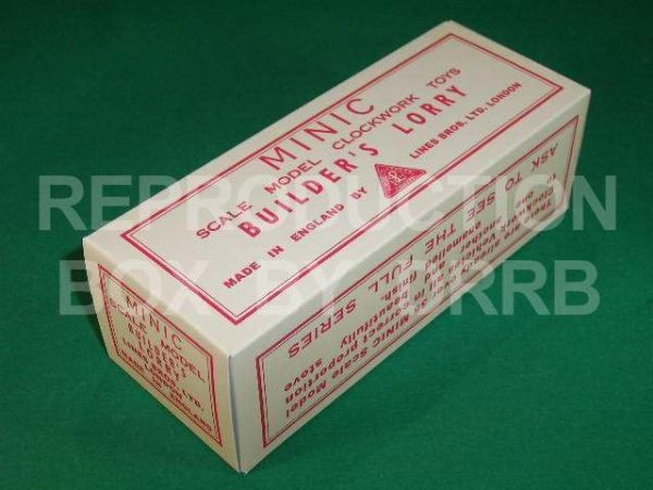 Minic #68M Builder's Lorry - Reproduction Box